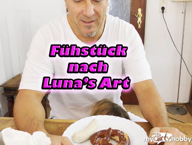 Frühstück nach Luna\'s Art!!!